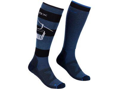 Ortovox Free Ride Long Socks M petrol blue