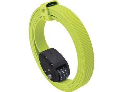 Otto DesignWorks Ottolock Cinch Lock - 152 cm, flash green - Fahrradschloss