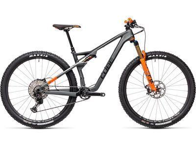 Cube AMS 100 C:68 TM 29 2021, flashgrey´n´orange - Mountainbike