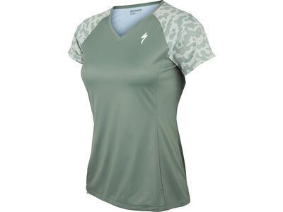 Specialized Women's Andorra Air Shortsleeve Jersey, sage green - Radtrikot