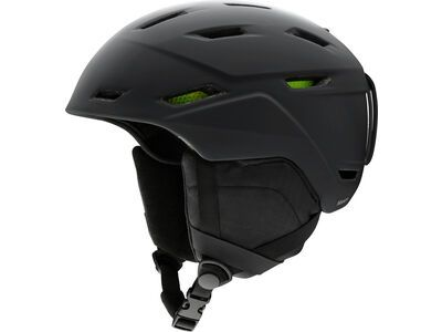 Smith Mission, matte black - Snowboardhelm