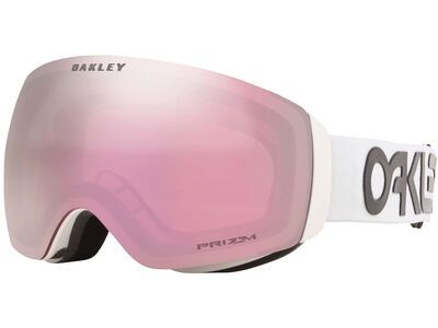 Oakley Flight Deck XM Prizm Factory Pilot, white/Lens: hi pink iridium - Skibrille