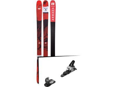 Set: Armada Tracer 88 2019 + Salomon Warden MNC 11 silver/black