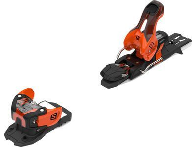Salomon Warden 11 100 mm, orange/black - Skibindung