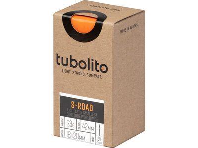 Tubolito S-Tubo Road 42 mm - 700C x 18-28C orange