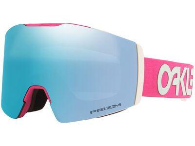 Oakley Fall Line XM Prizm Factory Pilot, rubine jasmine/Lens: sapphire iridium - Skibrille
