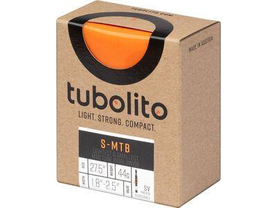 Tubolito S-Tubo MTB - 27.5 x 1.8-2.5 schwarz/orange