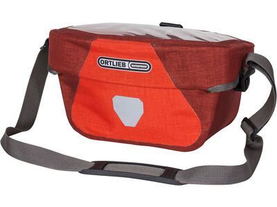 Ortlieb Ultimate Six Plus 5 L, signal red-dark chili - Lenkertasche