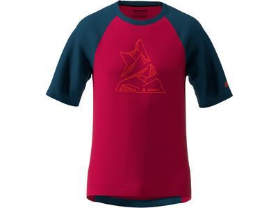 Zimtstern PureFlowz Shirt SS Men jester red/french navy