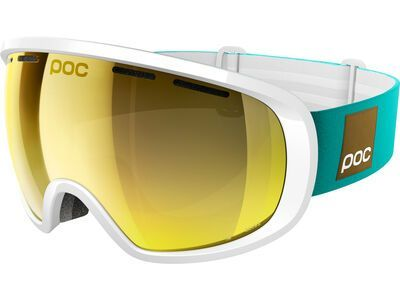 POC Fovea Clarity Blunck Edition, hydrogen white/spektris gold - Skibrille
