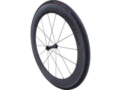 *** 2. Wahl *** Specialized Roval CLX 64 System, satin carbon/gloss black - Vorderrad | Größe 9x100mm (QR)