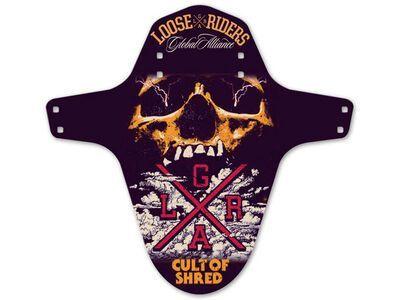 Loose Riders Mudguard Skull multi color