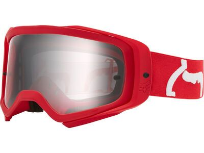Fox Airspace Prix Goggle Clear flame red