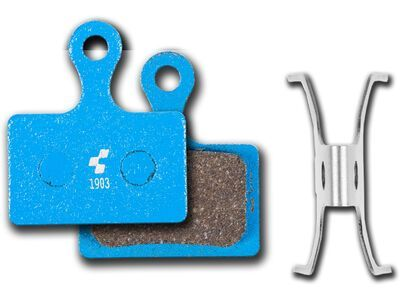 Cube Scheibenbremsbelag Shimano Direct Mount (BR-RS505 / RS805) - organisch, blue