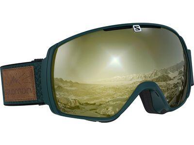 Salomon XT One Sigma, green gables/Lens: ml black gold - Skibrille