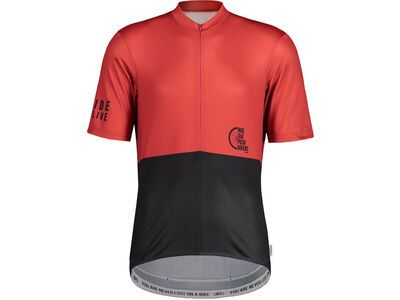 Maloja PushbikersM. Basic 1/2, chili - Radtrikot