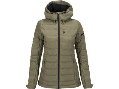 Peak Performance W Blackburn Jacket, soil olive - Skijacke
