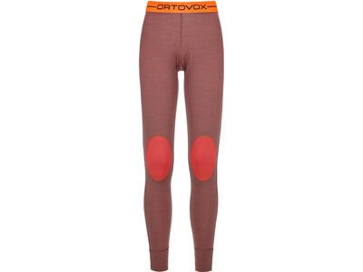 Ortovox 185 Merino Rock'n'Wool Long Pants W, blush blend - Unterhose