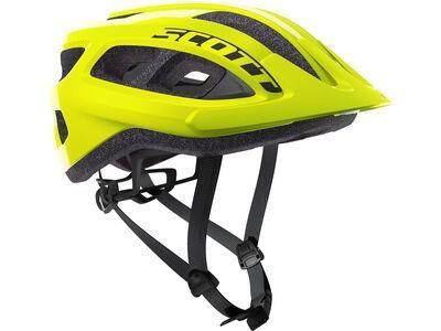 Scott Supra Helmet yellow fluorescent