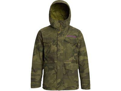 Burton Covert Jacket Slim, worn camo - Snowboardjacke