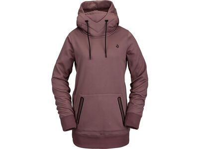 Volcom Spring Shred Hoody, rose wood - Fleecehoody