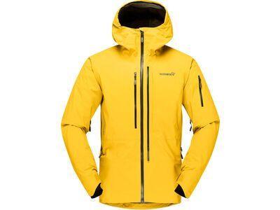 Norrona lofoten Gore-Tex Pro Jacket M's lemon chrome