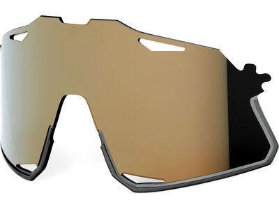 100% Hypercraft Replacement Lens - Soft Gold Mirror