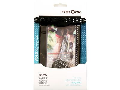 Fidlock Fold Dry Bag 160 black/clear