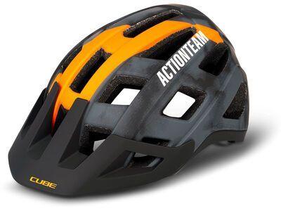 Cube Helm Badger X Actionteam, grey´n´orange - Fahrradhelm