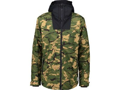 WearColour Block Jacket, forest - Snowboardjacke