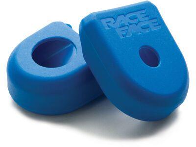 Race Face Crank Boot Small - Kurbelarmschutz, blue