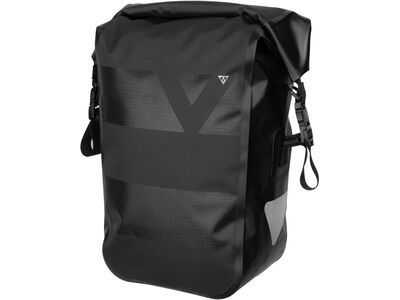 Topeak Pannier DryBag 15 l, black - Gepäckträgertasche