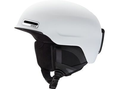 Smith Maze, matte white - Snowboardhelm