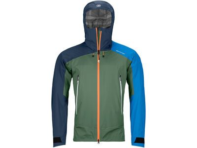 Ortovox Westalpen 3L Light Jacket M, green forest - Jacke
