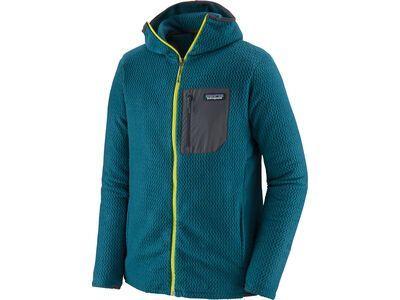 Patagonia Men's R1 Air Full-Zip Hoody, crater blue - Fleecehoody