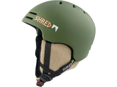 Shred Slam-Cap, woodland - Skihelm