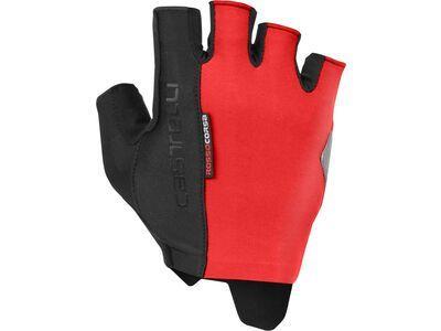 Castelli Rosso Corsa Espresso Glove red