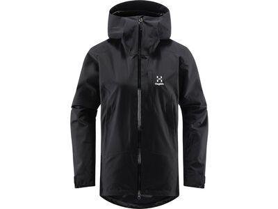 Haglöfs Lumi Jacket Women, true black - Skijacke