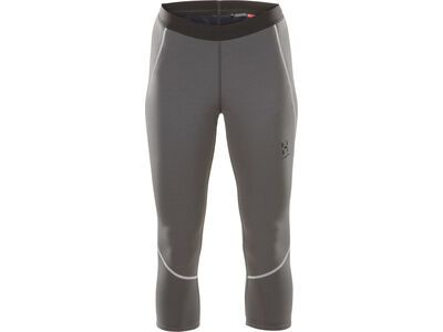 Haglöfs Heron Knee Tights Women, magnetite - Fleecehose