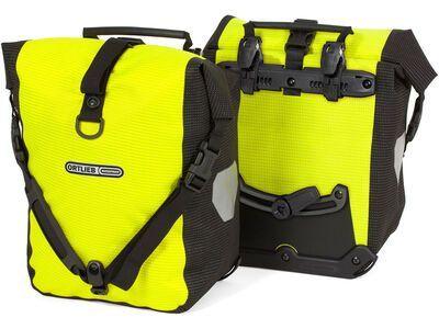 Ortlieb Sport-Roller High Visibility (Paar), neon yel./black refl. - Fahrradtasche