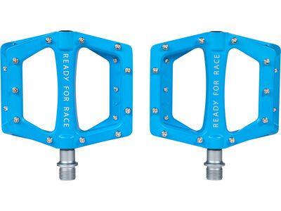 Cube RFR Pedale Flat CMPT, blue