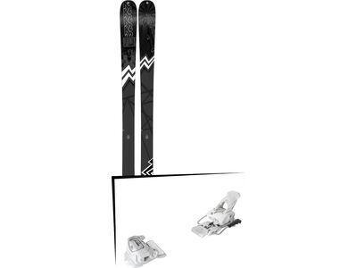 Set: K2 SKI Press 2019 + Tyrolia Attack² 12 GW matt white
