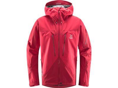 Haglöfs Spitz Jacket Men scarlet red/dala red