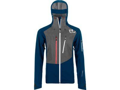 Ortovox Merino Naturtec Plus Pordoi Jacket W petrol blue