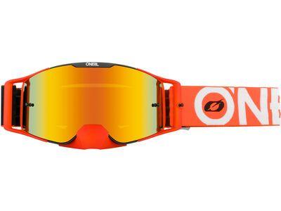 ONeal B-30 Goggle Bold – radium red black/orange