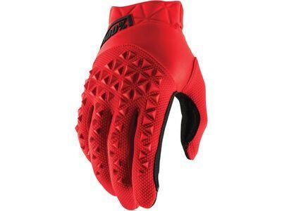 100% Airmatic Glove red/black