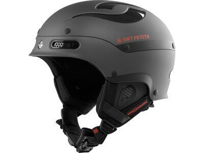 Sweet Protection Trooper, matt black metallic - Skihelm
