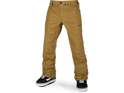 Volcom Klocker Tight Pant, burnt khaki - Snowboardhose