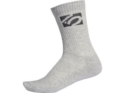 Five Ten Performance Half-Cushioned Crew Socks medium grey heather