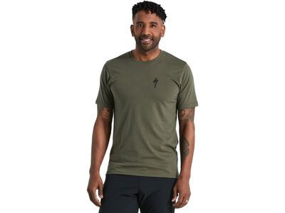 Specialized Special Eyes Short Sleeve T-Shirt oak green